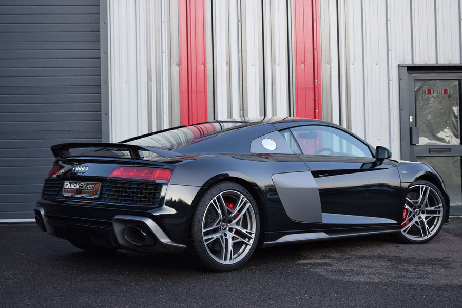 Audi R8 V10 (with GPFs) Active Sport Exhaust with OR without GPF delete pipes (2020 on EURO Spec)