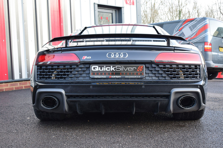 Audi R8 V10 GPF Delete Pipes (2020 on Euro Spec)