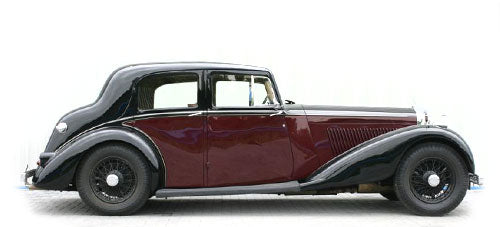 Bentley 3.5 and 4.25 litre - Stainless Steel Exhaust System (1933-39)