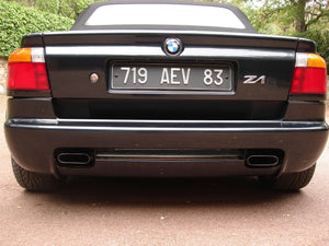 BMW Z1 Stainless Steel Exhaust (1987-91)