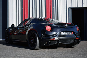 Alfa Romeo 4c Coupe and Spider - Sport Exhaust System w/ Sound Architect APP (2014-19)