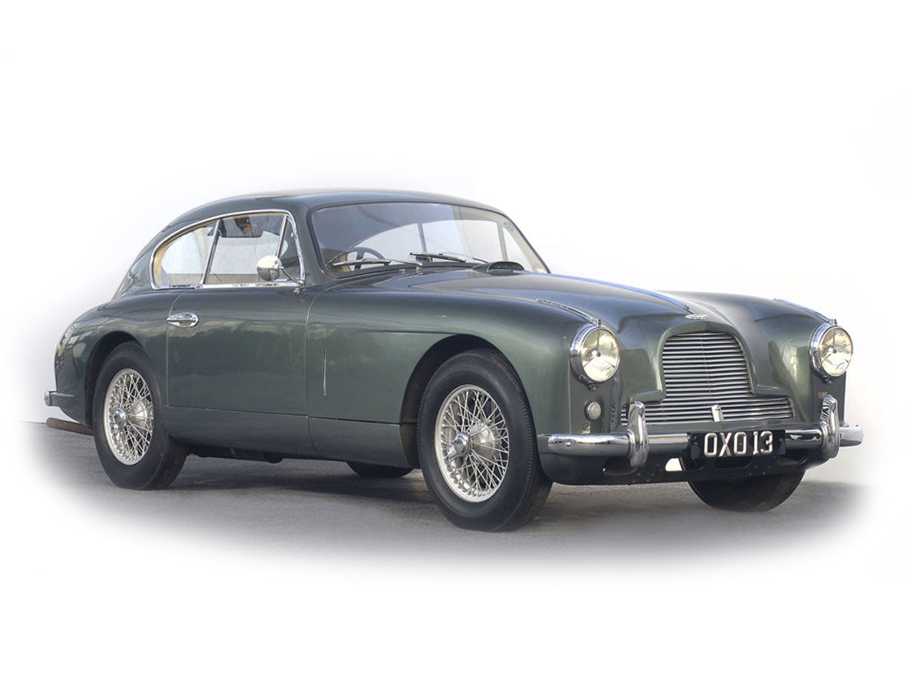 Aston Martin DB Stainless Steel Exhaust System - Aston martin db2