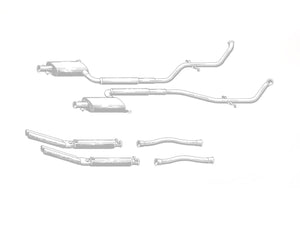 De Tomaso Deauville Series 1 and 2 - Stainless Steel Exhaust (1970-85)