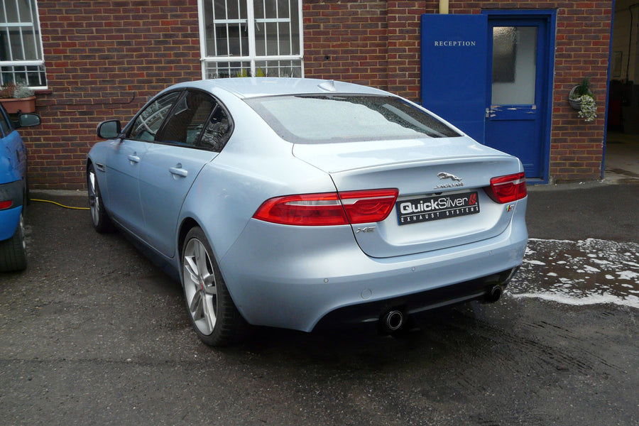 Jaguar XE 3.0 SuperCharged Sport Exhaust (2016 on)