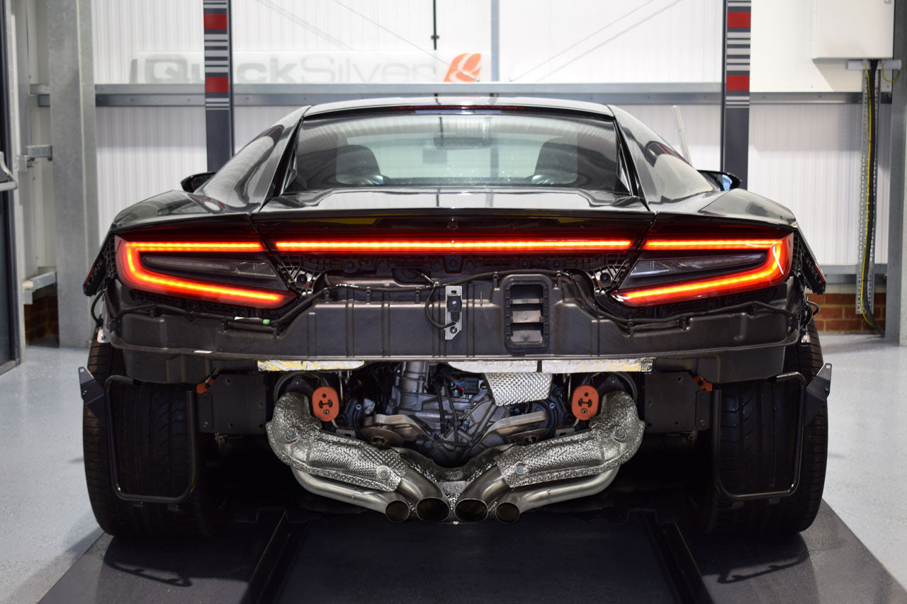Honda And Acura Nsx Sport Exhaust System 2017 On Quicksilver Exhausts
