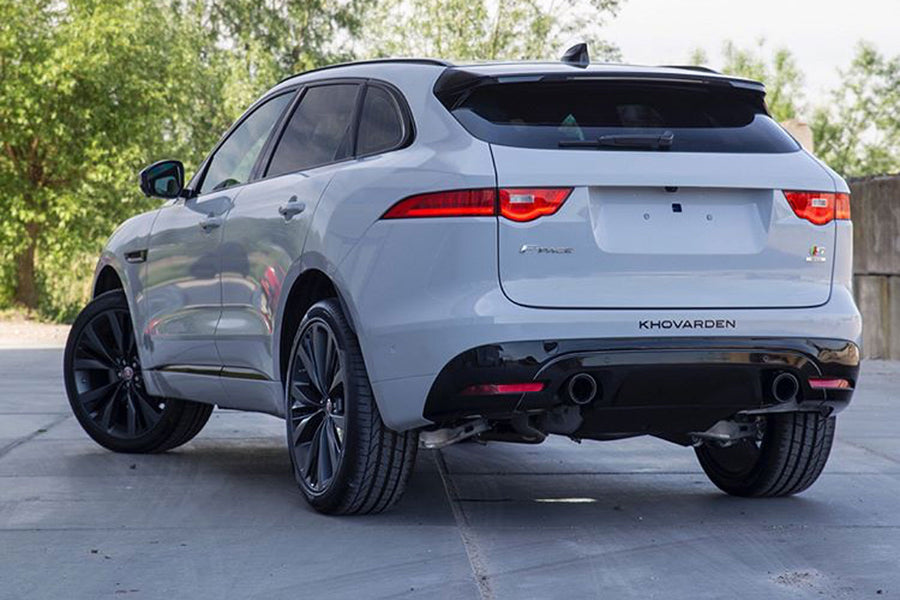 Jaguar F Pace 3.0 Diesel Turbo Sport Exhaust (2016 on)