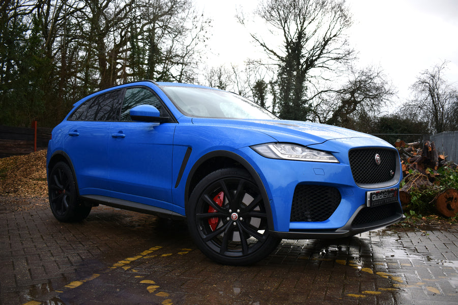 Jaguar F Pace SVR 5.0 - Sport System w/Sound Architect (2019 on)