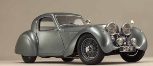 Jaguar SS100 3.5 (Twin System) - Stainless Steel Exhaust (1938-49)