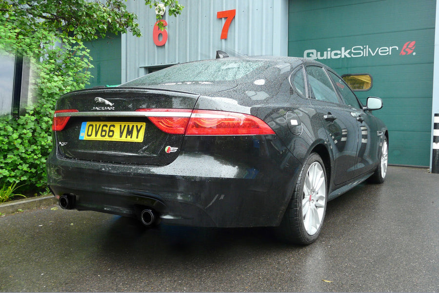 Jaguar XF 3.0 Super Charged Sport Exhaust (2016 on)