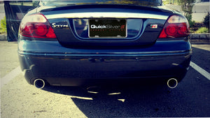 Jaguar S Type R Sport Exhaust (2003-08)