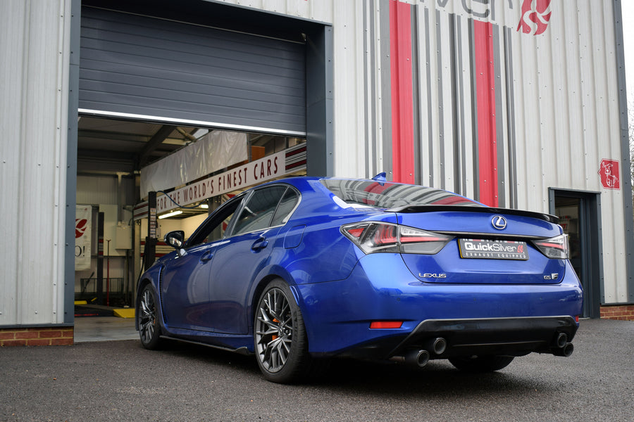 Lexus GS F, Sport Exhaust (2016-18)
