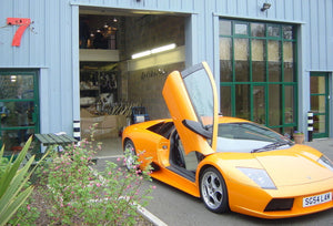 Lamborghini Murcielago Secondary Cat Delete Pipes (2002-07)
