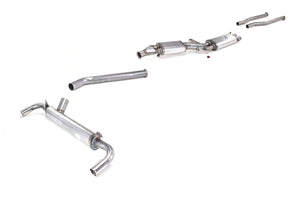Maserati Indy Stainless Steel Exhaust (1969-74)