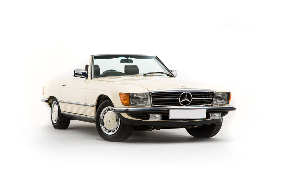Mercedes 280 SL W107 - Stainless Steel Front Pipes (1974-85)