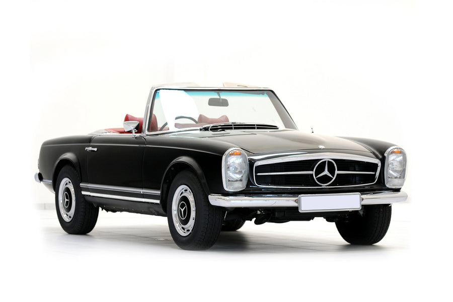 Mercedes 230 SL W113 - Stainless Steel Exhaust OR Front Pipes (1963-67)
