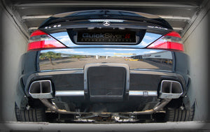 Mercedes SL65 AMG Black Series (R230) Sport Exhaust (2006-11)