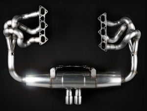 Porsche 911 GT3 (977) Sport Exhaust INC. Manifolds & Cats (2006 on)