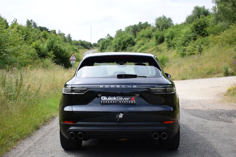 Porsche Cayenne V6 3.0 Sound Architect Active Valve Sports Exhaust System (2019 on)