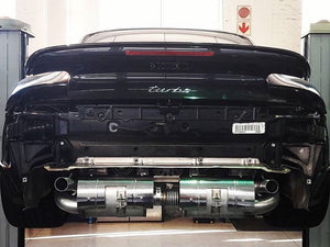 Porsche 911 Turbo (997 Gen. 1) Sport Exhaust with Race Catalysts (2006-09)