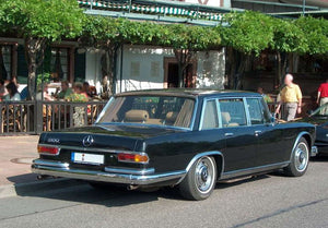 Mercedes 600 Pullman W100 Stainless Steel Exhaust (1963-81)