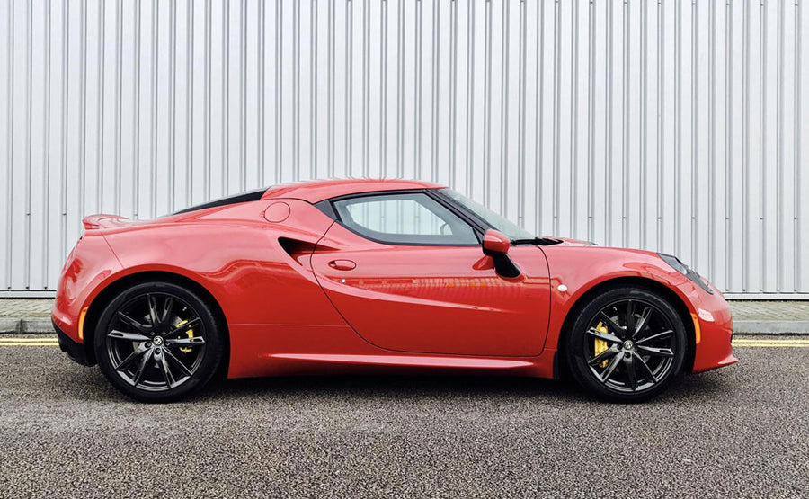 Alfa Romeo 4c Coupe and Spider Sport OR SuperSport Exhaust System