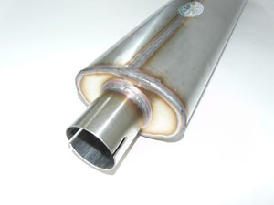 Aston Martin DB Mk3 Stainless Steel Exhaust 'Twin' System (1957-59)