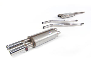 Mercedes 280 S, SE, SEL W108 - Stainless Steel Exhaust (1968-72)