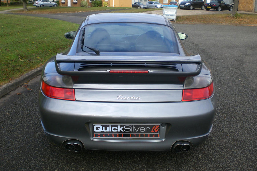 Porsche 911 GT2 (996) Sport Exhaust with Race Catalysts (2001-06)