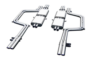 Ferrari 365 GT 2 plus 2 Stainless Steel Exhaust (1968-70)