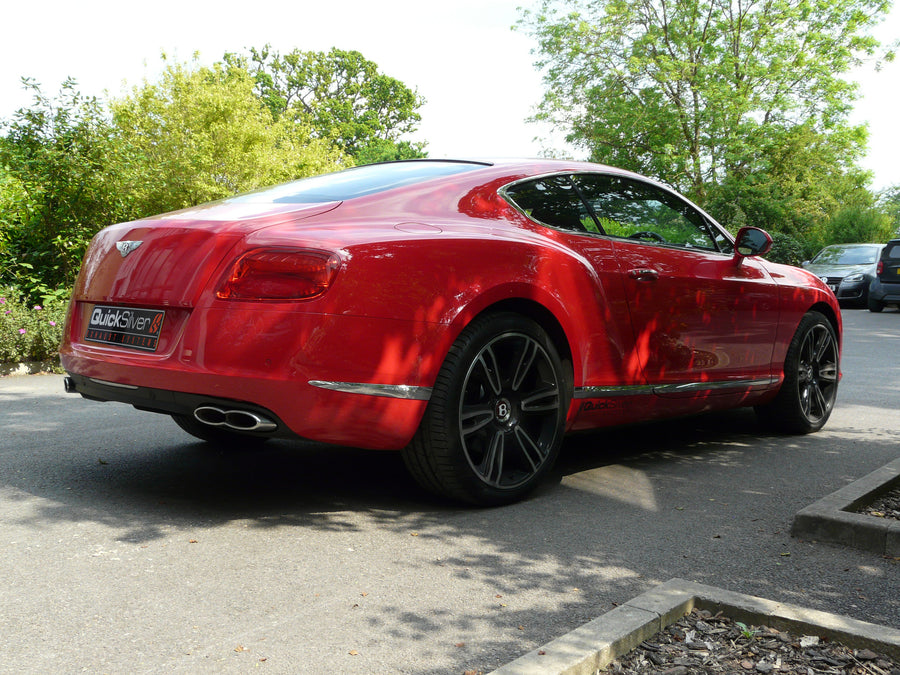 Bentley Continental GT, GTC V8 and V8S Sport Exhaust (2012 on)