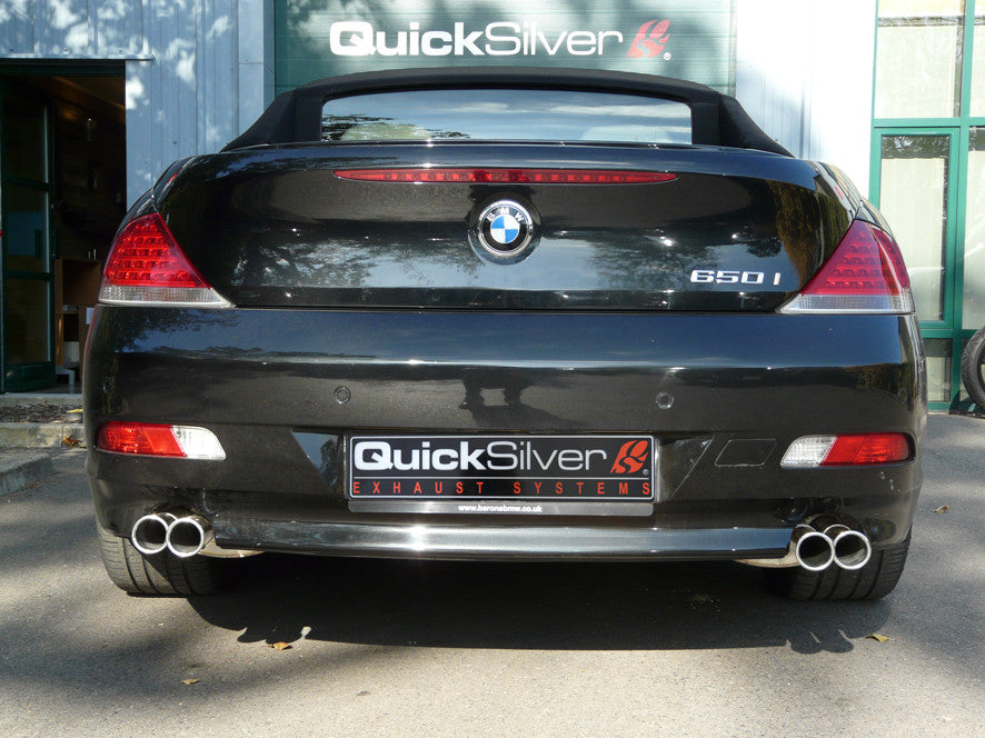 BMW 650i V8 (E63 E64) Sport Exhaust (2006-10)
