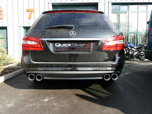 Mercedes E63 5.5 Biturbo Estate (W212) AMG Sport Exhaust (2012 on)