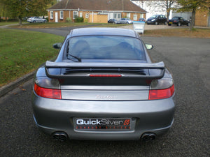 Porsche 911 Turbo (996) Sport Exhaust with Race-Cats (2001-06)