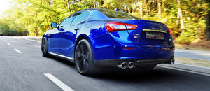 Maserati Ghibli inc. S, Q4 Petrol Sport Exhaust (2014 on)