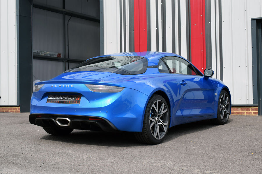 Alpine A110 Active Valve Sport Exhaust System with Sound Architect (2019 on)