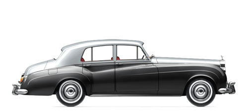 Rolls Royce Silver Cloud 2 - Stainless Steel Exhaust (1959-62)