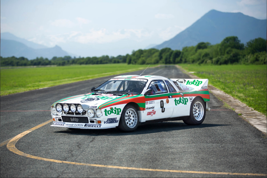 Lancia 037 Rallye - Stainless Steel Exhaust (1983)