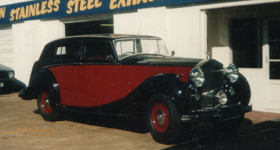 Rolls Royce Silver Wraith - Stainless Steel Exhaust (1946-55)
