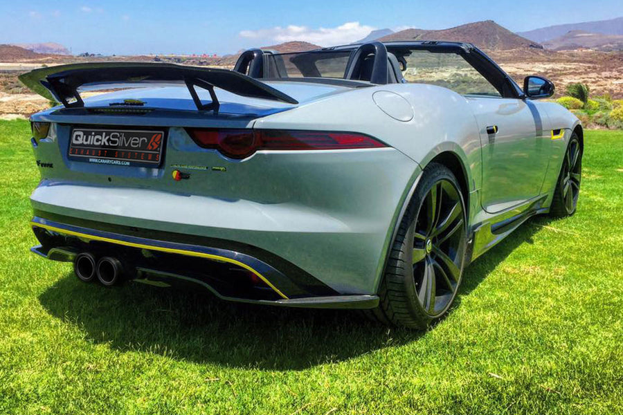 Jaguar F Type V6 Coupe, Convertible Sport Exhaust (2014 on)
