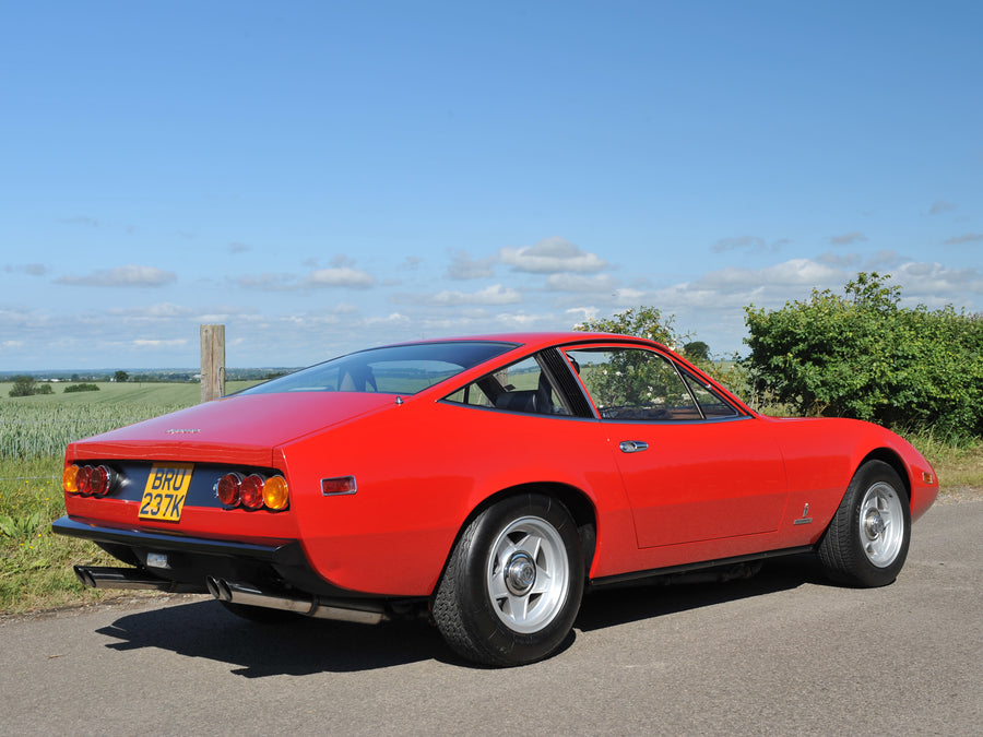 Ferrari 365 GTC 4 Stainless Steel Exhaust System (1971-72)