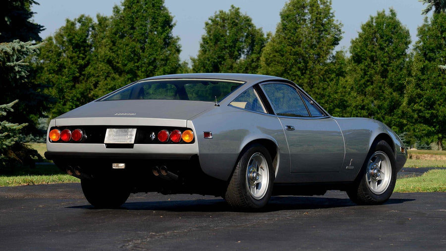 Ferrari 365 GTC 4 (USA Spec) Stainless Steel Exhaust (1971-72)