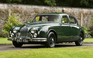 Jaguar Mk 1 3.4 - Stainless Steel Exhaust (1957-59)