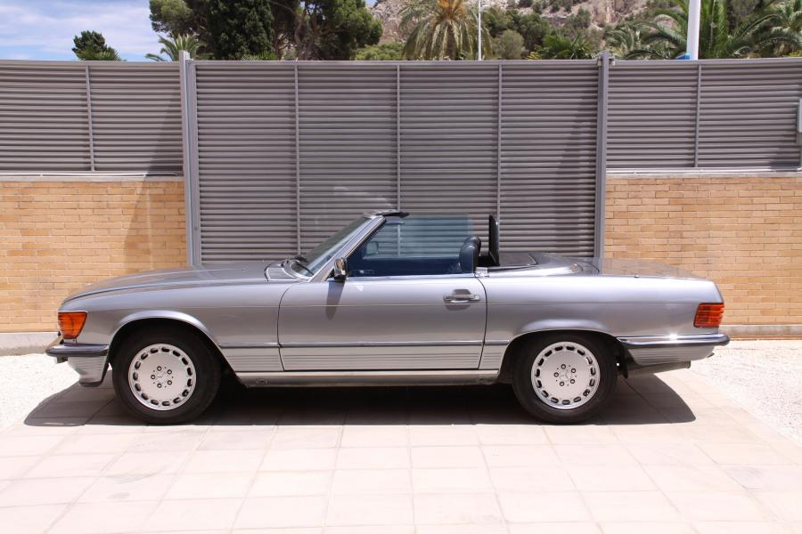 Mercedes 300 SL W107 Stainless Steel Exhaust (1985-89)