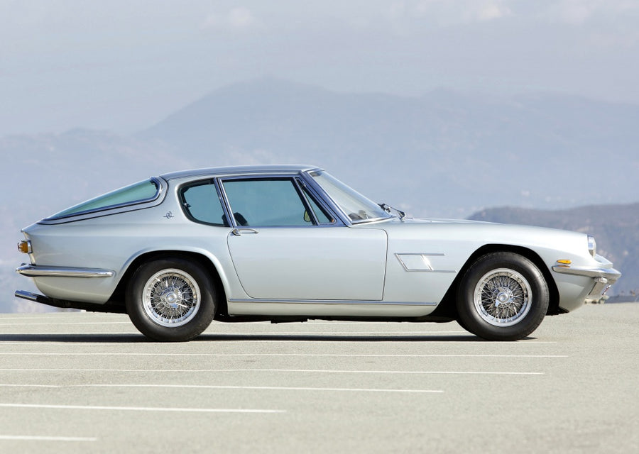 Maserati Mistral 4000 (inc. Spyder) Stainless Steel Exhaust (1966-70)