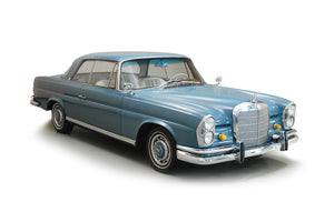 Mercedes 220 S SE W111 - Stainless Steel Exhaust (1960-65)