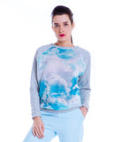 Sweat nuages voile transparent