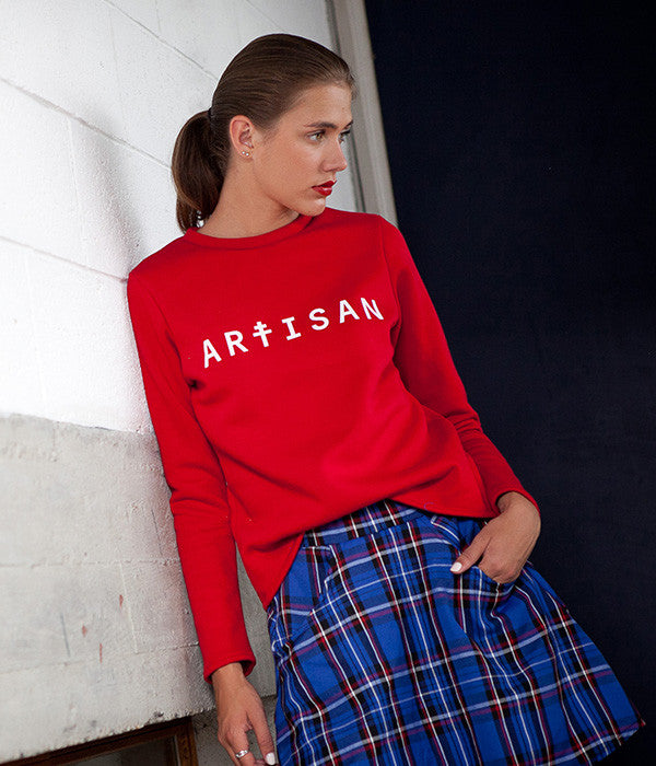 Sweat Artisan rouge