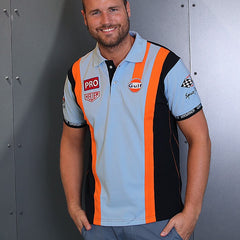 Gulf Racing Team Polo - Kortærmet