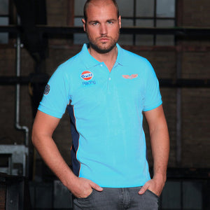 GPO Racing Polo Light Blue