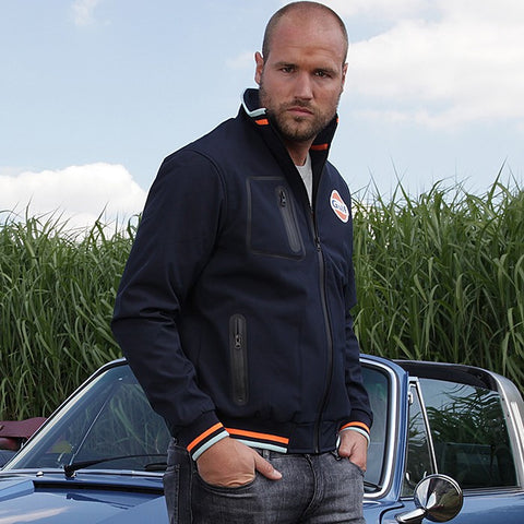 Gulf Softshell Jacket Navy Blue